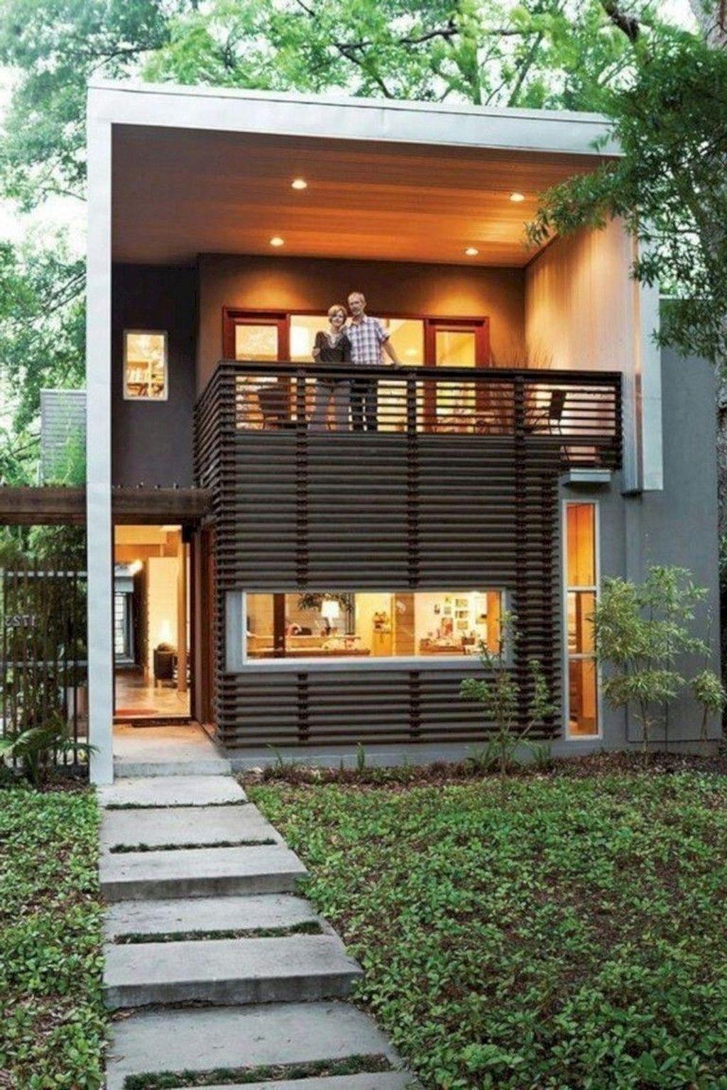 Awesome Small Contemporary House Designs Ideas To Try 22 Di 2020 Arsitektur Rumah Arsitektur Modern Arsitektur