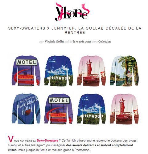 Stay tuned ;) La suite sur http://www.ykone.com/sexy-sweaters-jennyfer