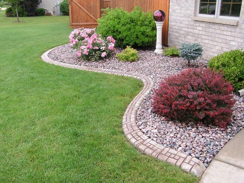 Concrete Landscape Curbing Continuous Edging