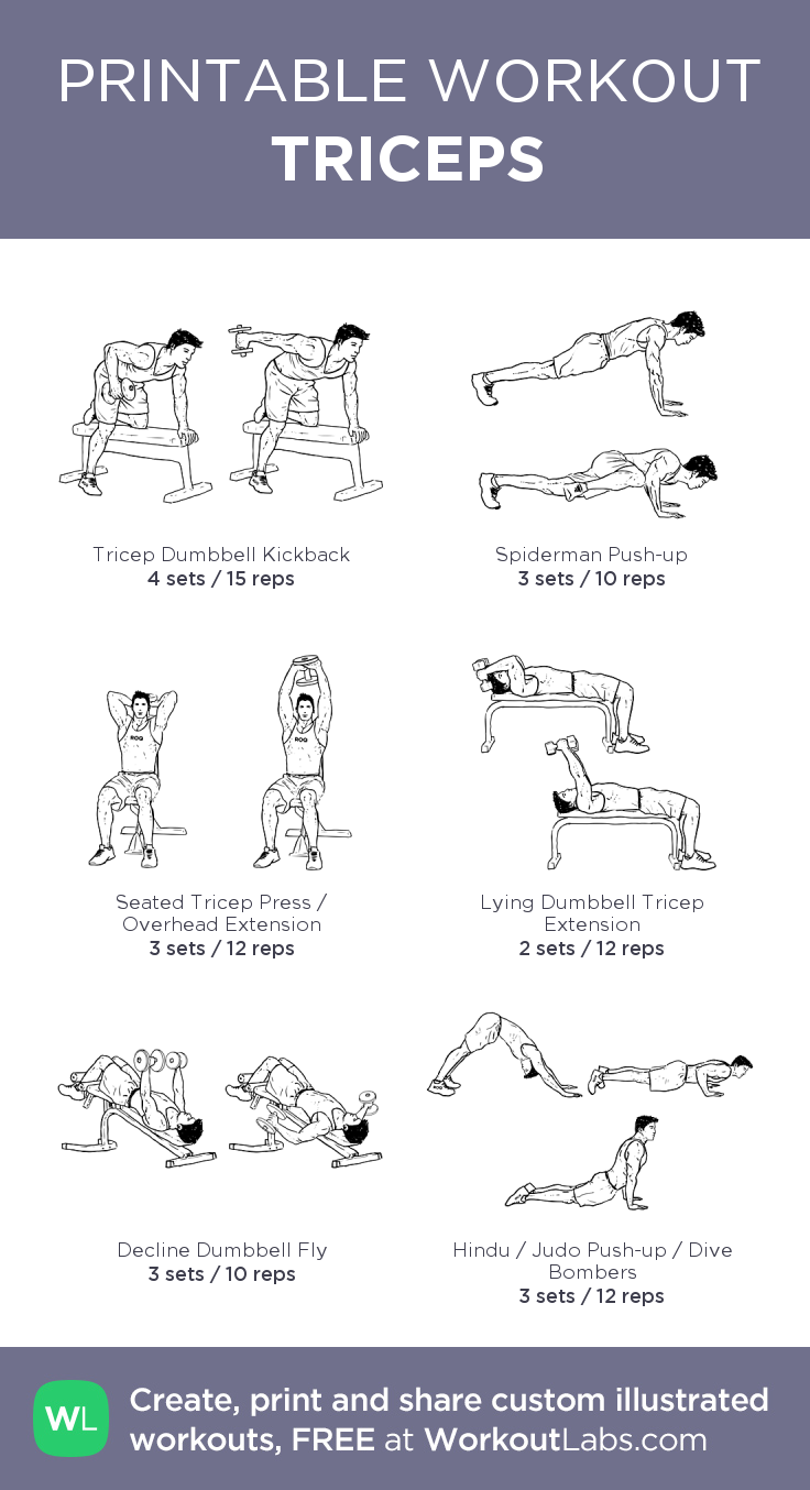 TRICEPS – workoutlabs | Mission 2015: DO IT | Chest workout for men