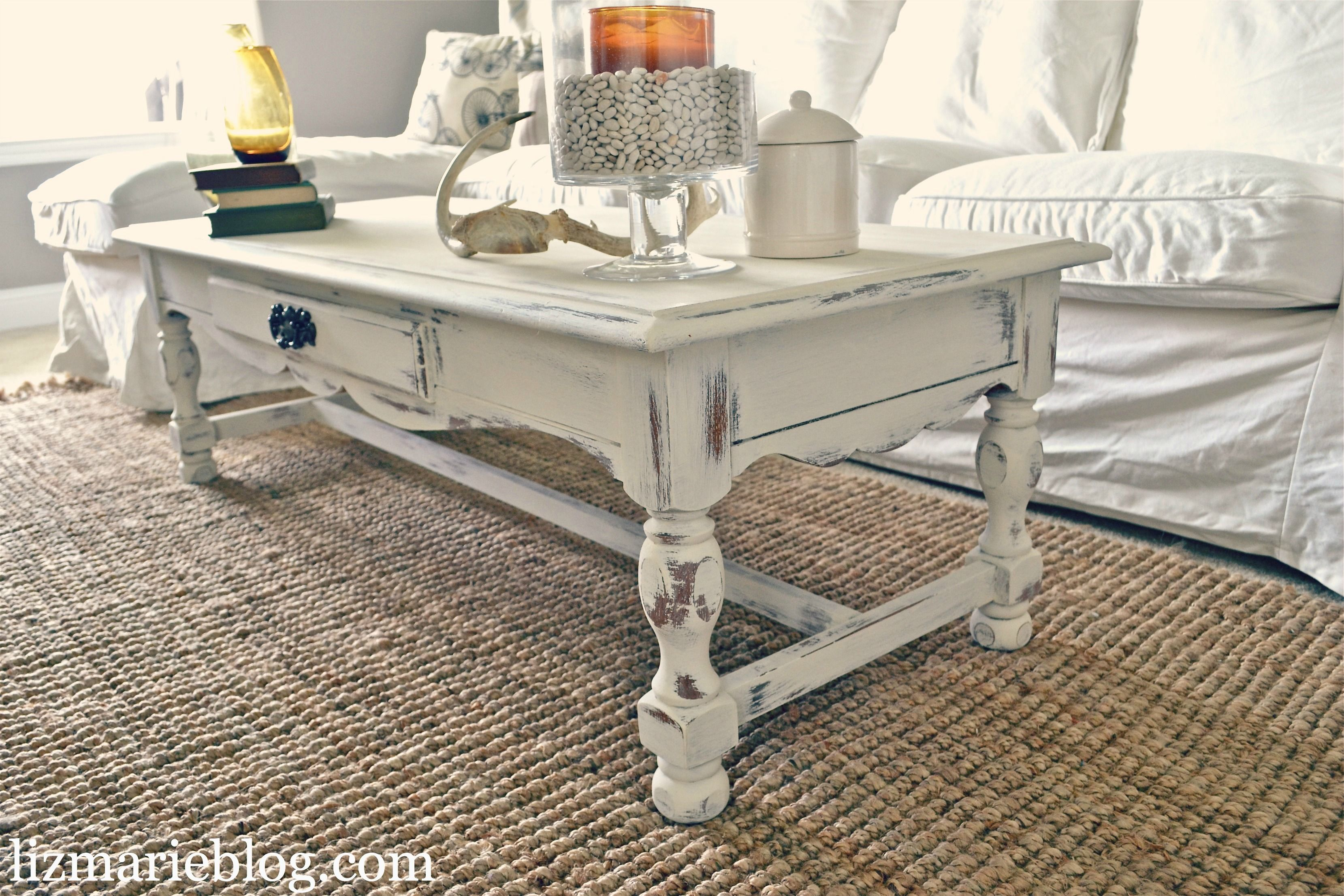 Shabby Little Coffee Table Shabby Chic Decor Living Room Shabby Chic Room Shabby Chic Coffee Table