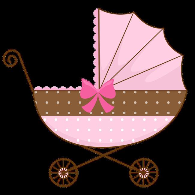 Desenho De Carrinho De Bebe Em Png Menina Clipart Full Size