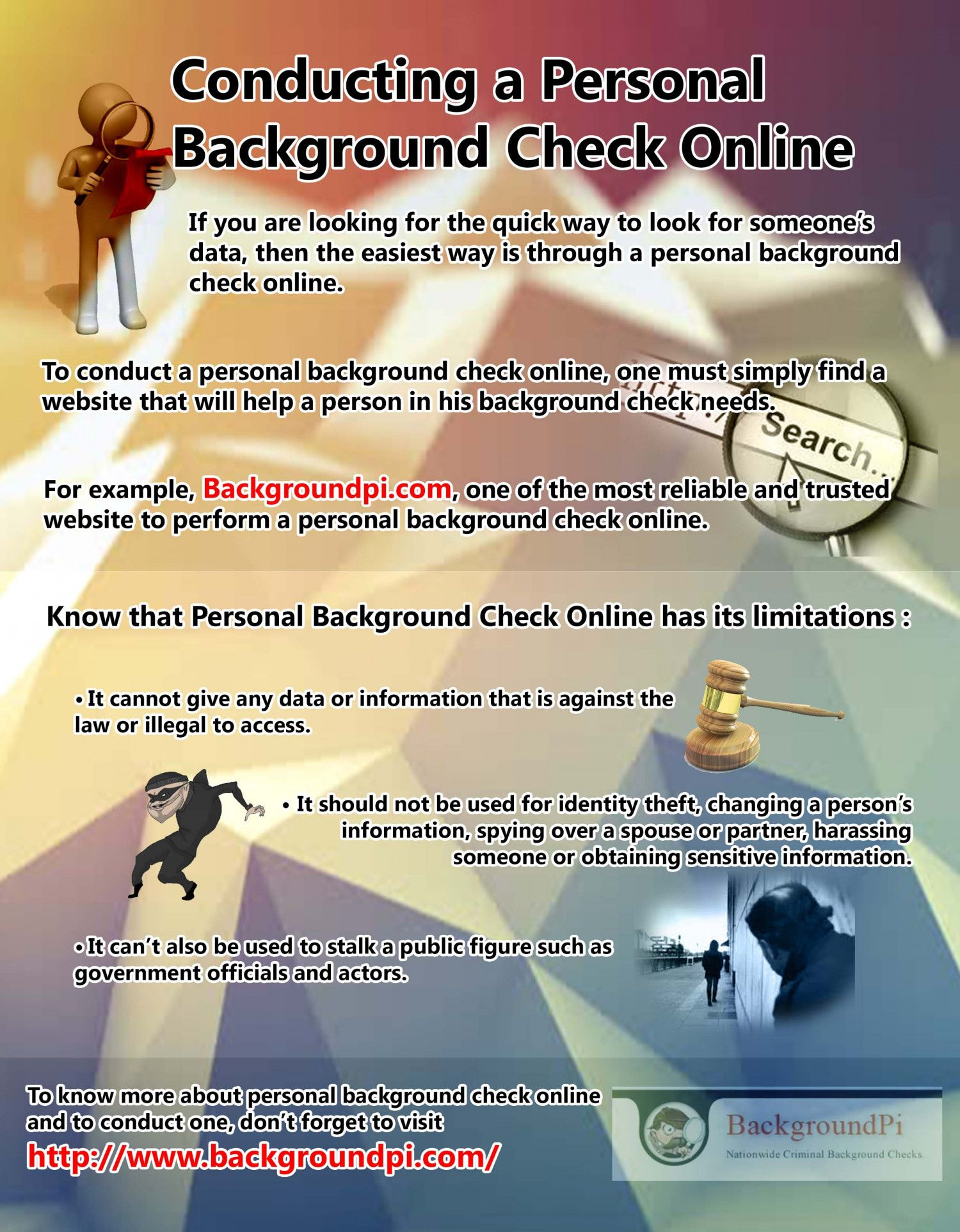 To Know More About Personal Background Check Online And To Conduct