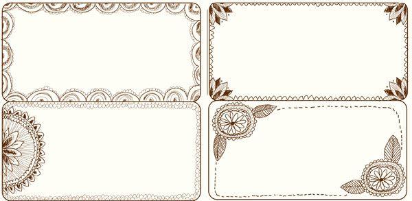 1000+ images about Doodle Frames & Border Labels on Pinterest ...