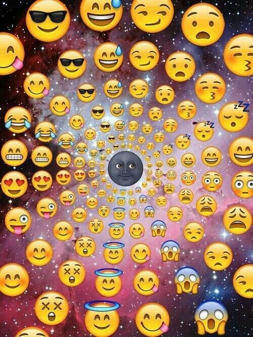 Luna Emoji Wallpaper Whatsapp