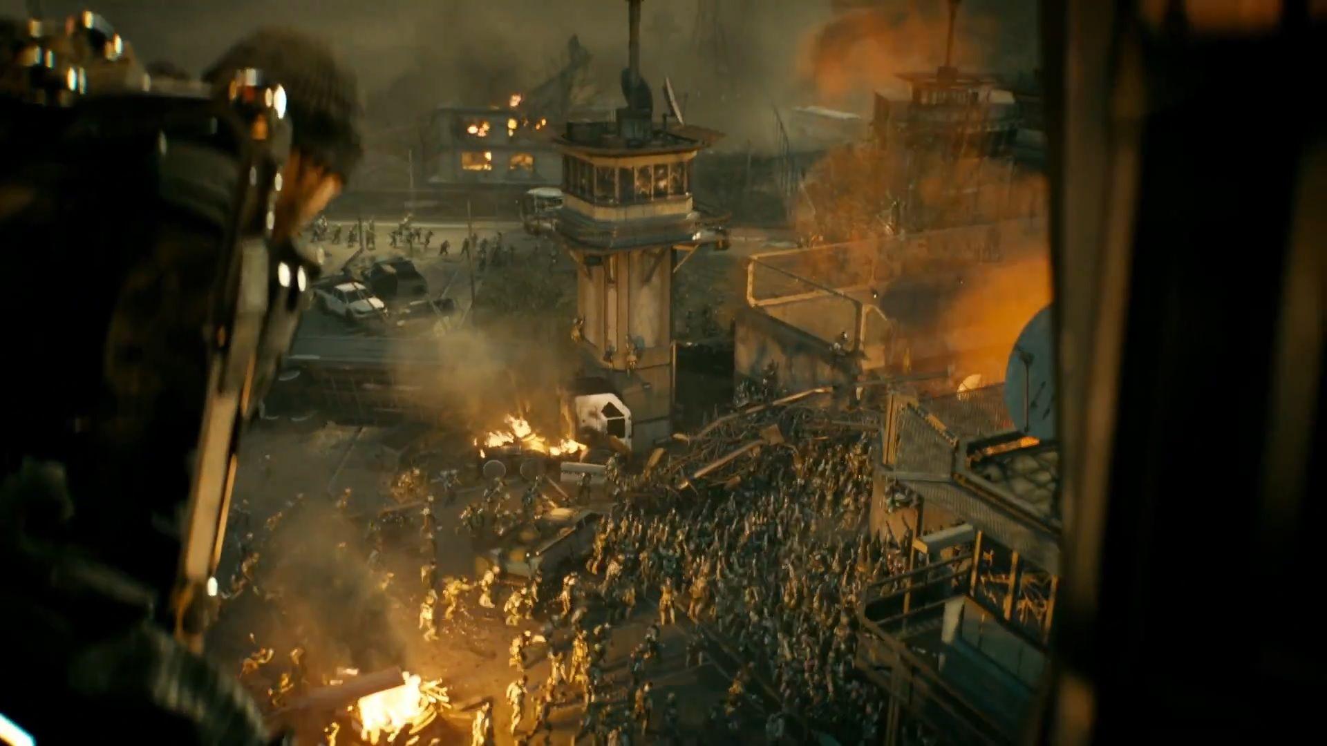 Call Of Duty Advanced Warfare Exo Zombies Trailer Articles - Call duty exo zombies trailer looks epic