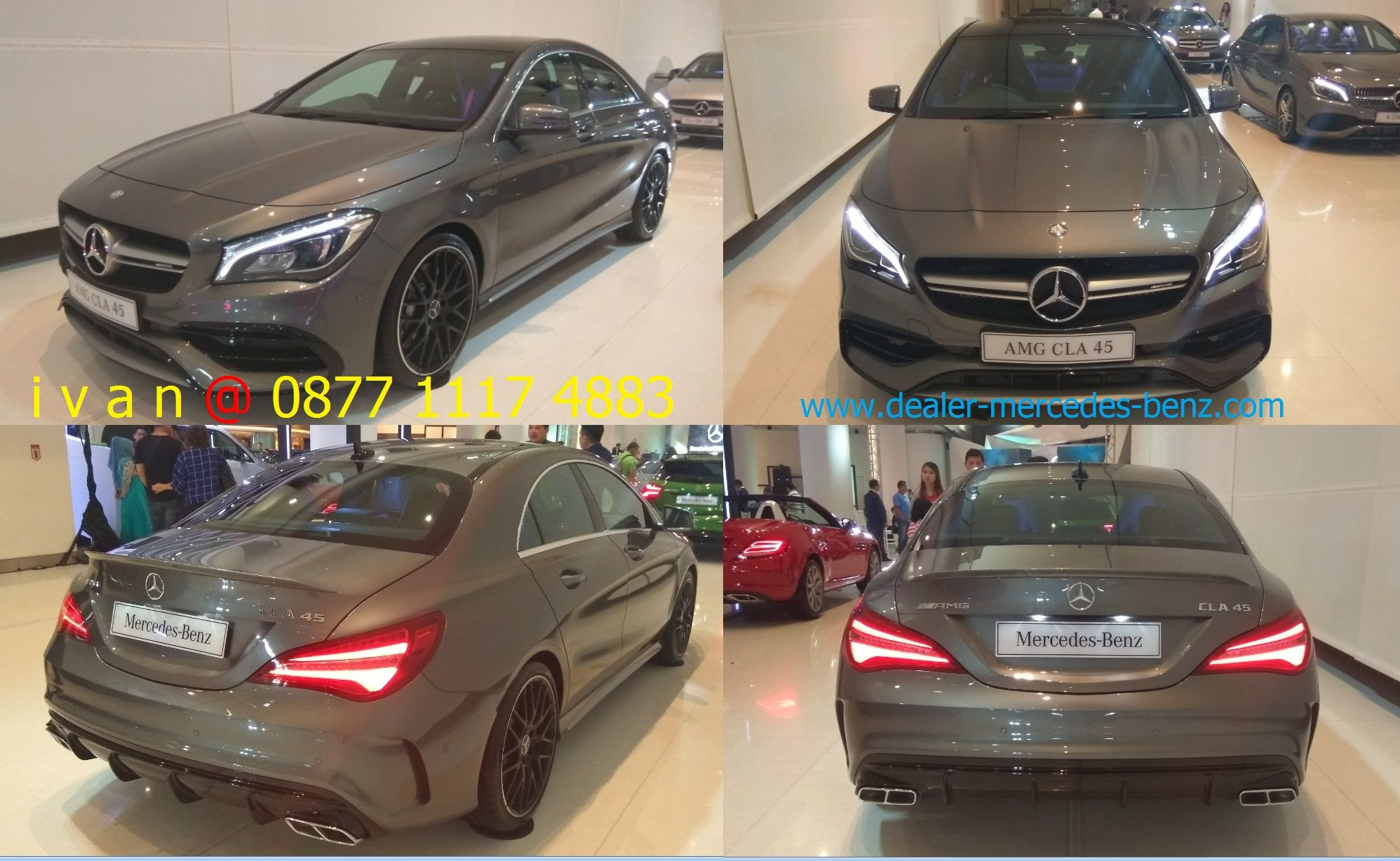 Cla Class Cla 45 Amg 2017 Indonesia Mountain Grey Dealer Mercedes Benz Jakarta Mercedes Benz Benz New Mercedes