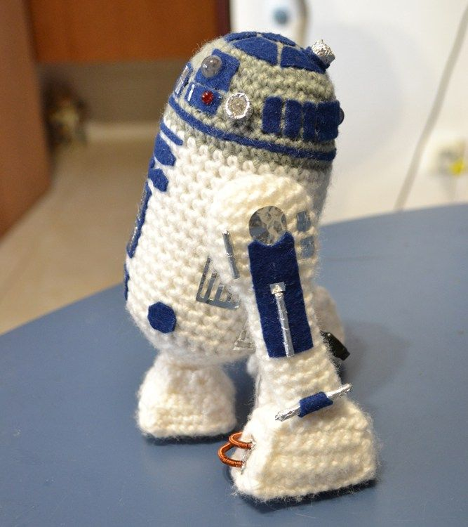 Monday Free Pattern Find R2d2 Crochet Pinterest Crochet