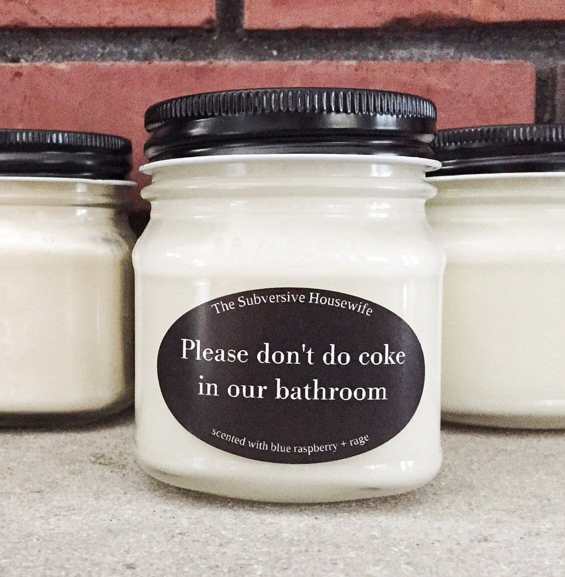 Funny housewarming gift funny candles funny scented