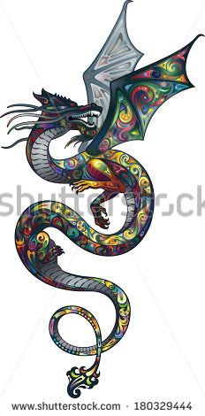 Dragon Tattoo Stock Photos, Dragon Tattoo Stock Photography, Dragon Tattoo Stock Images : Shutterstock.com