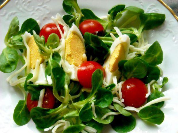 Zeleninový tanier s poľníčkom