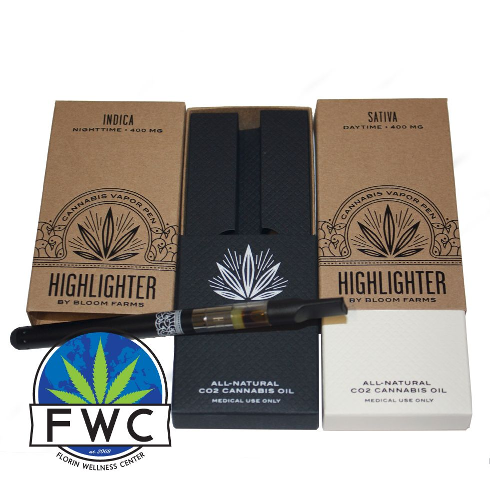 Highlighter by Bloom Farms - Indica and Sativa Cannabis Vapes