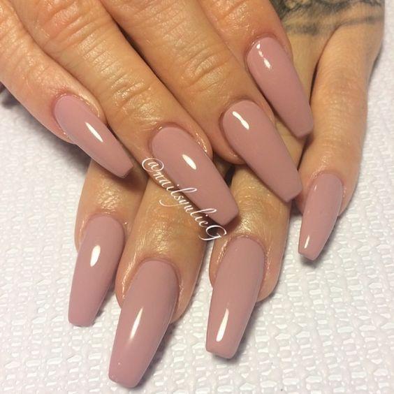 Pinterest Angelic Vanity Nails Long Acrylic Nails Long Nail Designs Nude Nails