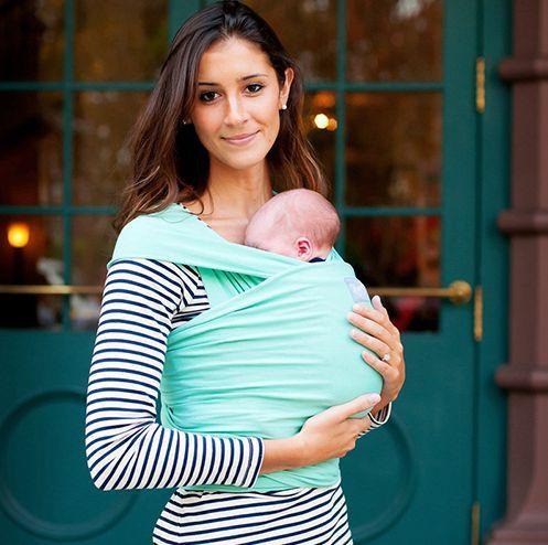 Breathable Infant Sling Soft Natural Wrap Carrier Baby Backpack