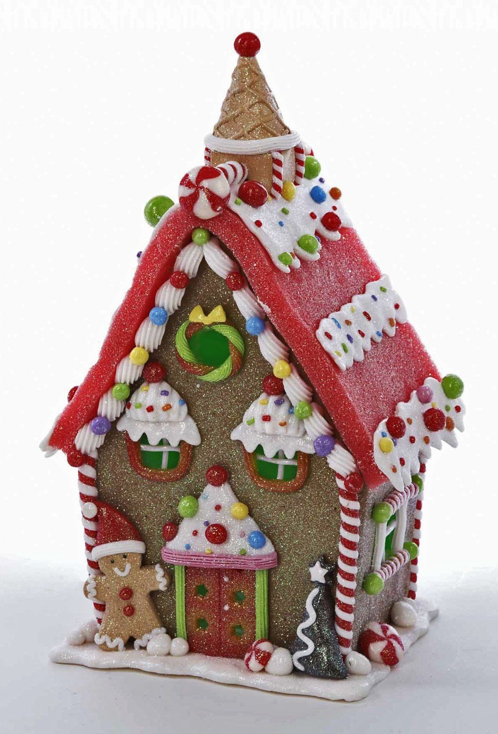 Amazon Com Christmas Decoration Lighted Gingerbread House 10 H Led Lights Gingerbread Gingerbread House Parties Gingerbread House