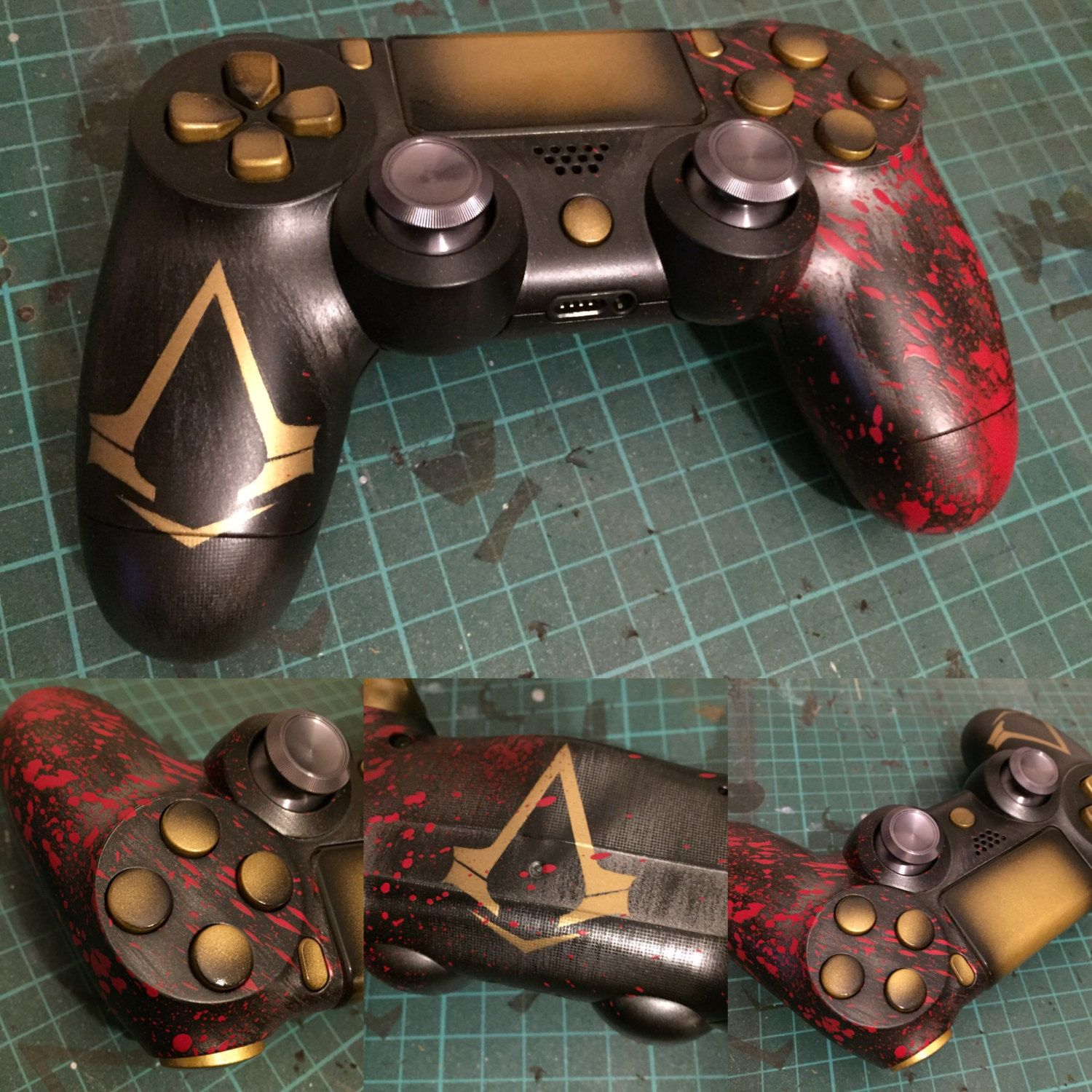 Assassin S Creed Inspired Ps4 Controller Assassins Creed Game