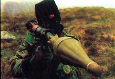 Ira Volunteer With Rpg Irish Nationalism Fighting Irish Derry