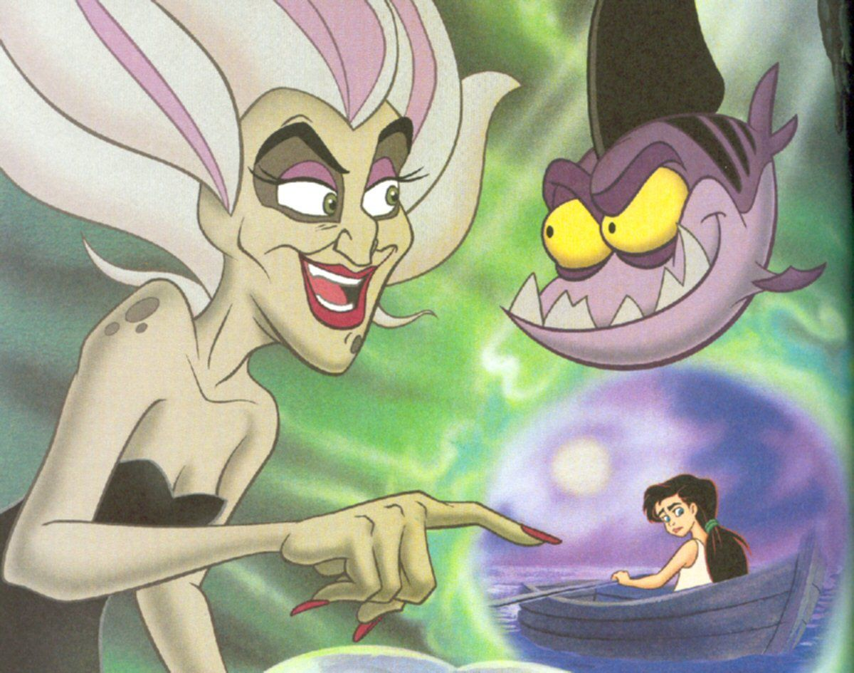 Morgana Ursula S Sister Melody The Little Mermaid Ii Return To The Sea 2000 The Little Mermaid Ii Disney Little Mermaids The Little Mermaid