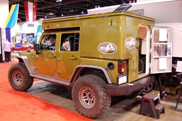 jeep jk pulse camper top 4x4 camping truck overlander. Black Bedroom Furniture Sets. Home Design Ideas