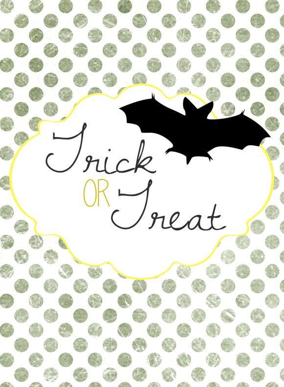 Free Printable : Halloween Paper Bag DIY | Printables. | Pinterest ...