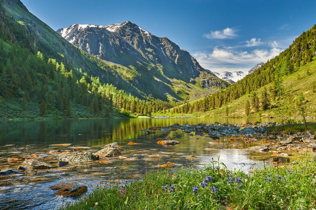 Katun Ridge, Altai Mountains, Siberia jigsaw puzzle in