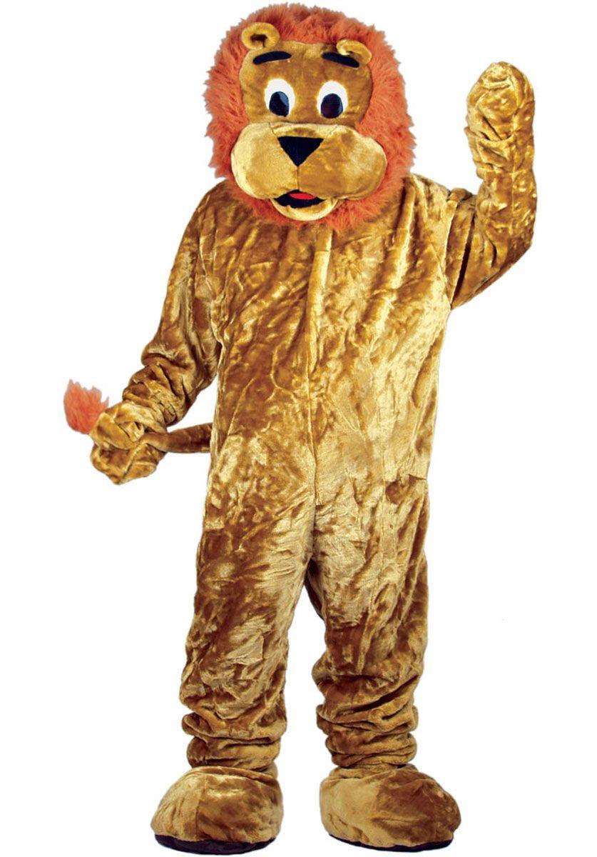 Mascot Roaring Lion
