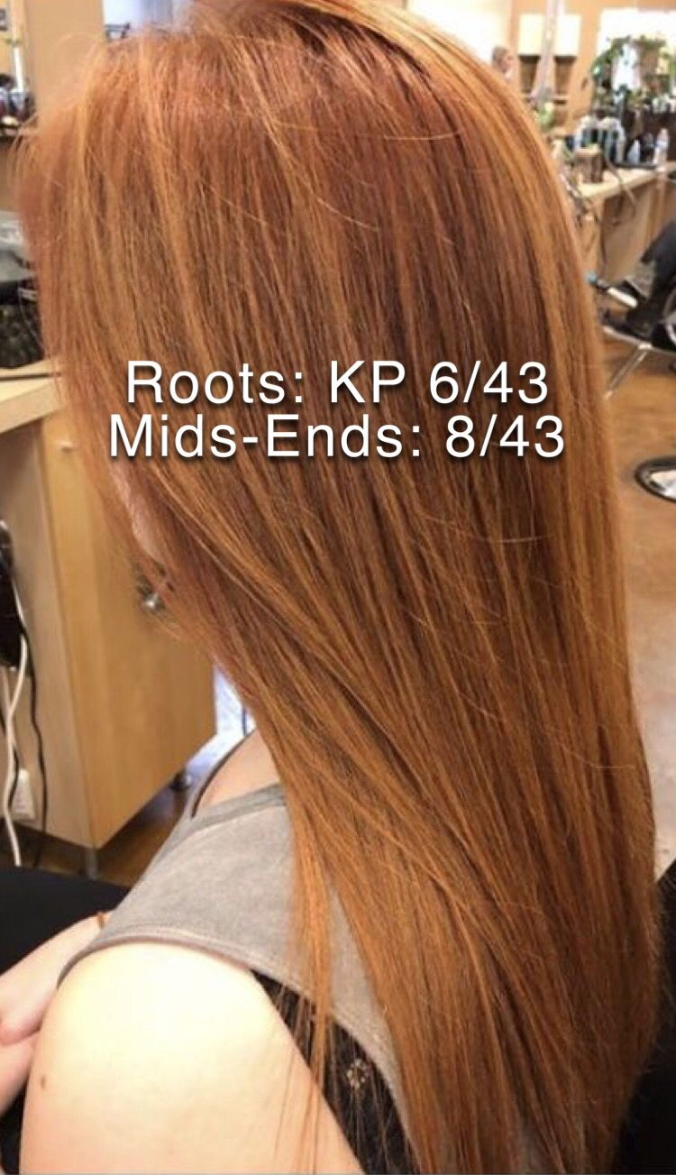 Copper Strawberry Blonde Color Formula With Images Hair Color
