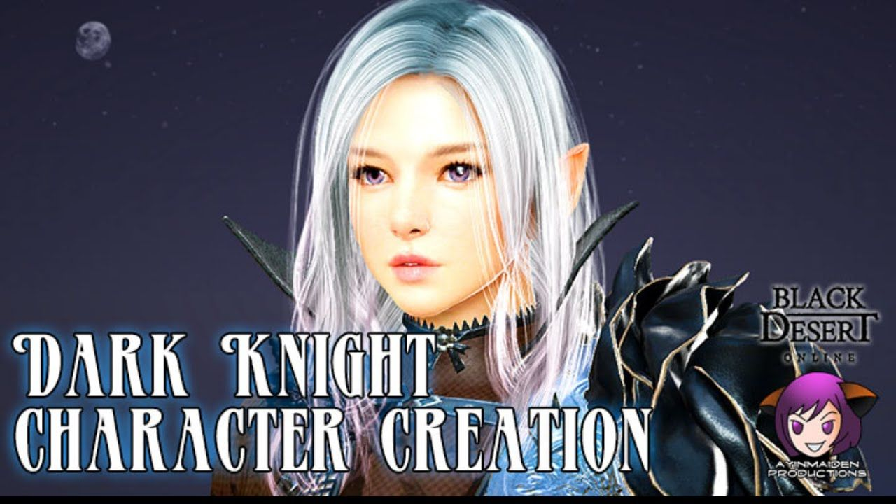Character Creation: Dark Knight | Black Desert Online | Dark