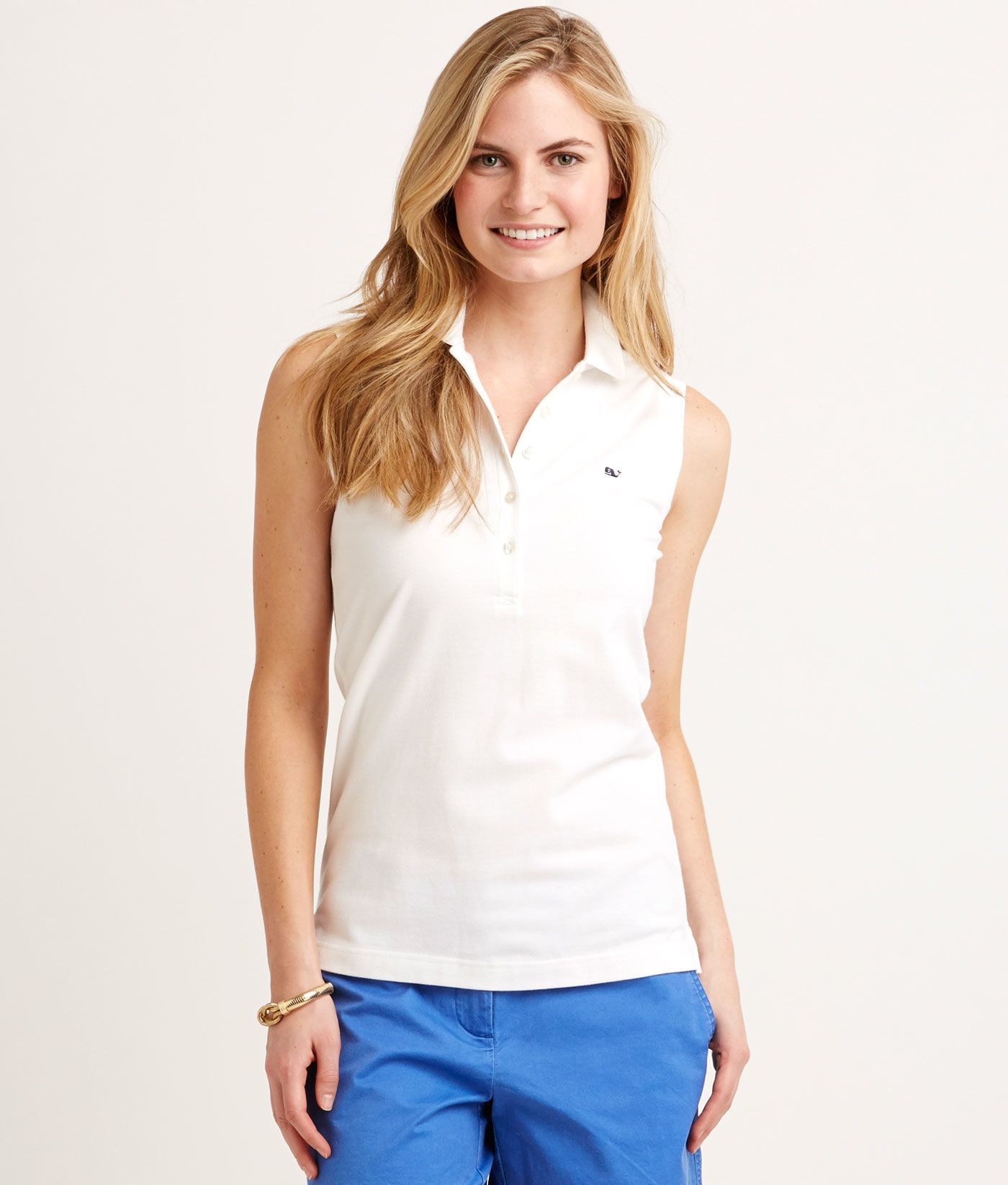 If sunshine on your shoulders makes you happy, like it does us, you'll love  this casually cool women's polo.