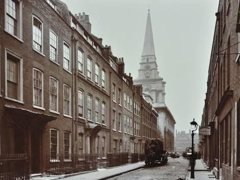 Photographic Print Georgian Terraced Houses And Christ Church