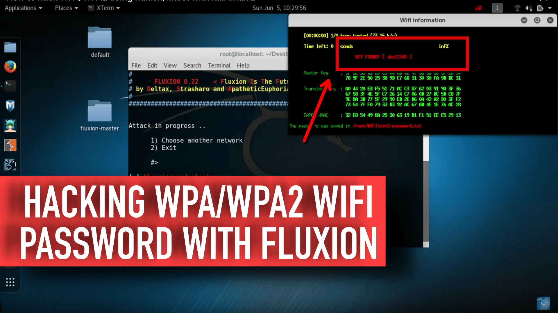 Crack WPA/WPA2 Wifi Password Without Dictionary/Brute Fore Attack