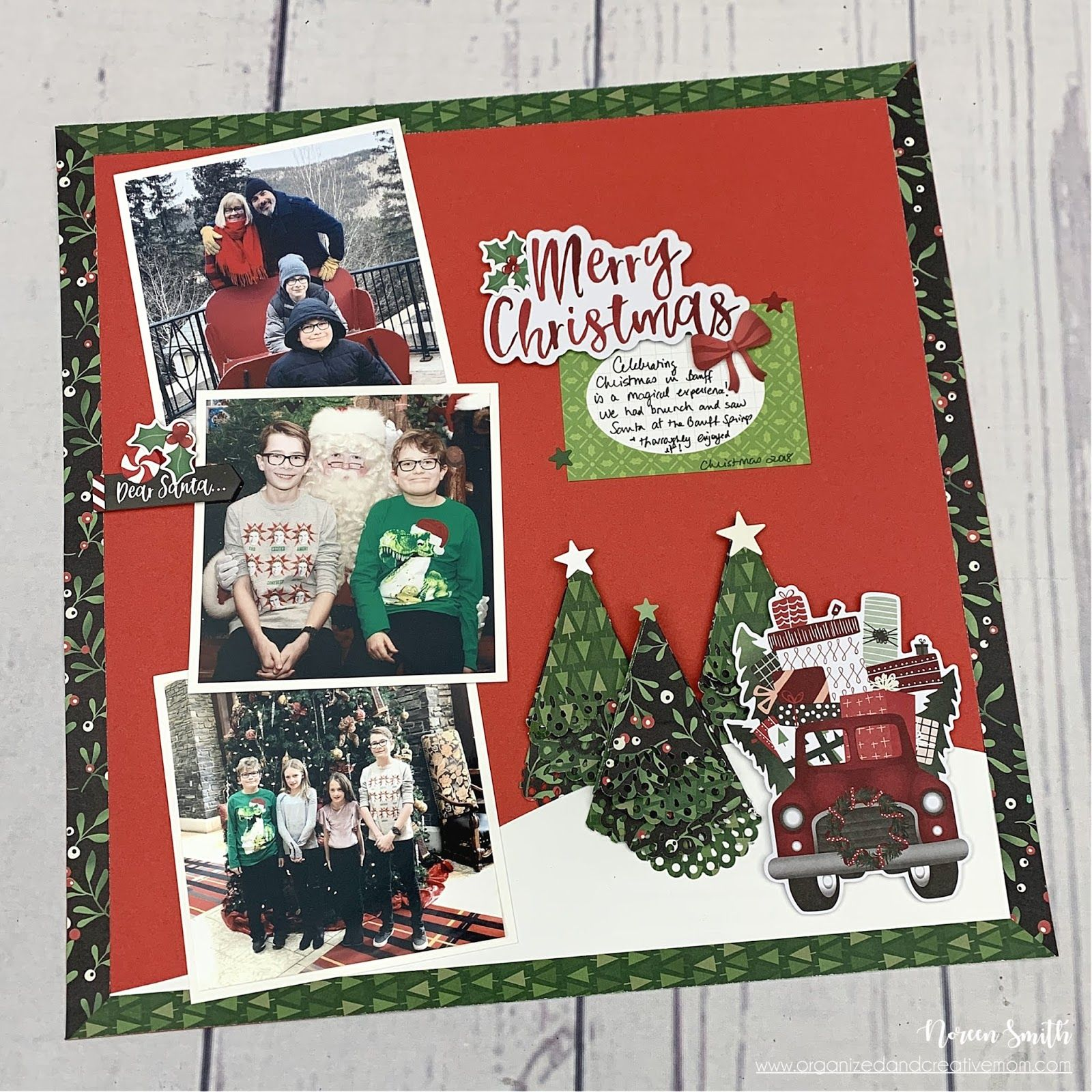 Pin By Kris Schuler On Scrapbooking In 2020 Christmas Layouts