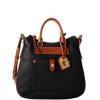Dooney & Bourke: Tear Drop Hobo.  I have this in Navy.