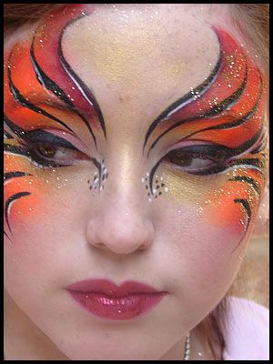 All fairies...softer colours...NOT orange! Idea!!!! Instead of sitting at DSR, a small table will be set up and fairies will be in the process of having their make up applied!