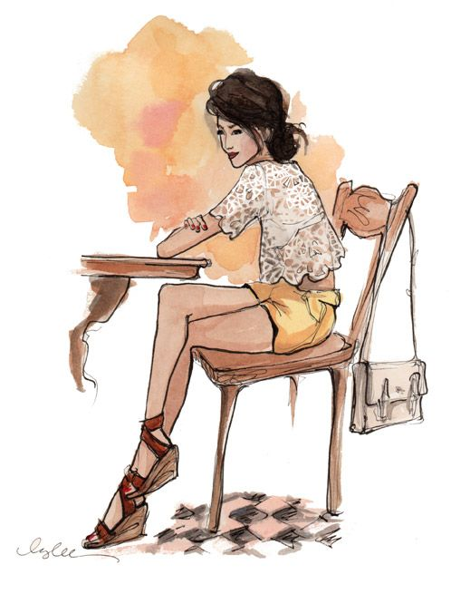 The Sketch Book – Inslee Haynes | Fashion Illustration by Inslee | Page 53
