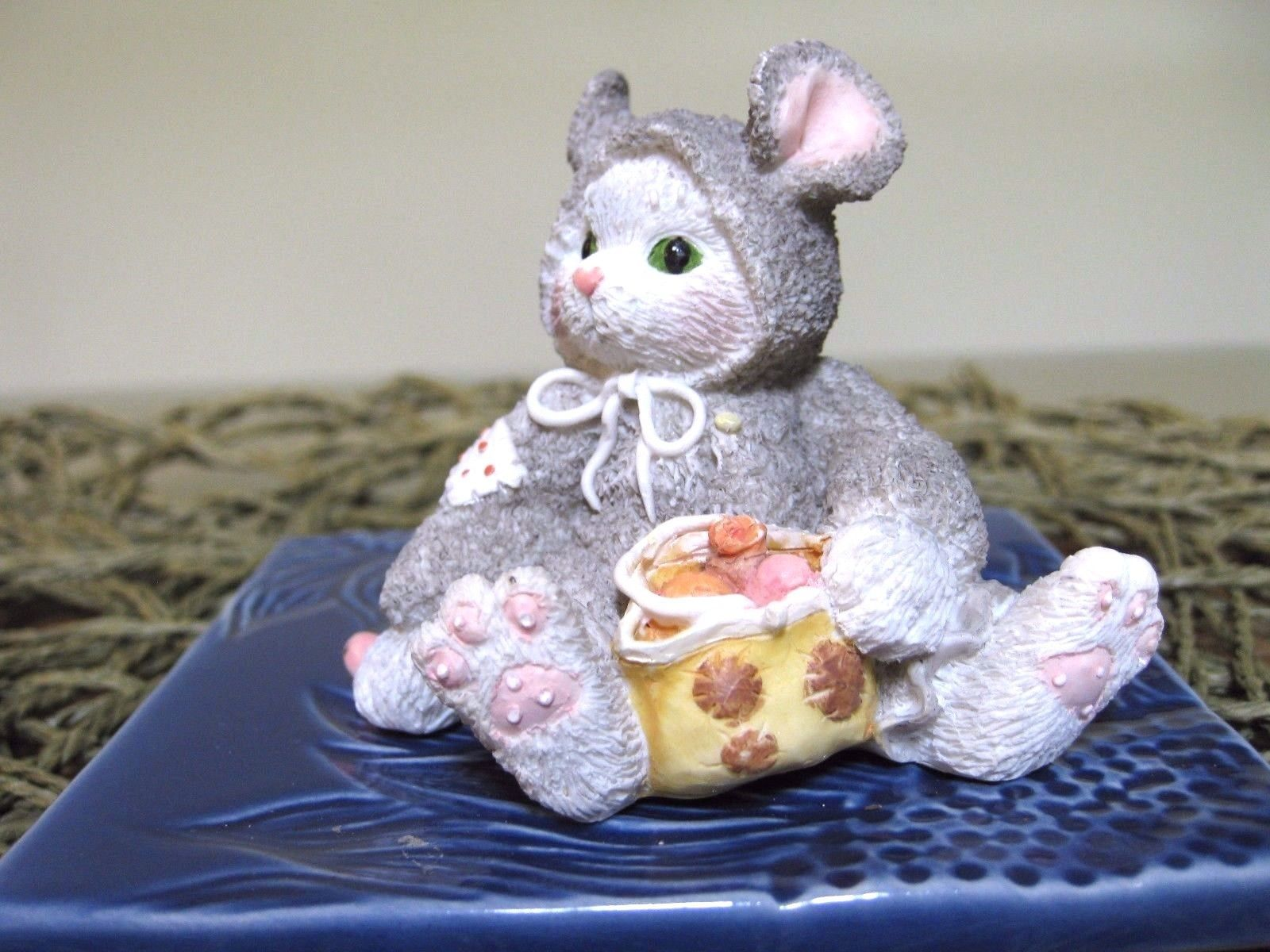 """Calico Kittens Enesco """"Can't Disguise Our Friendship"""" Mouse Costume 