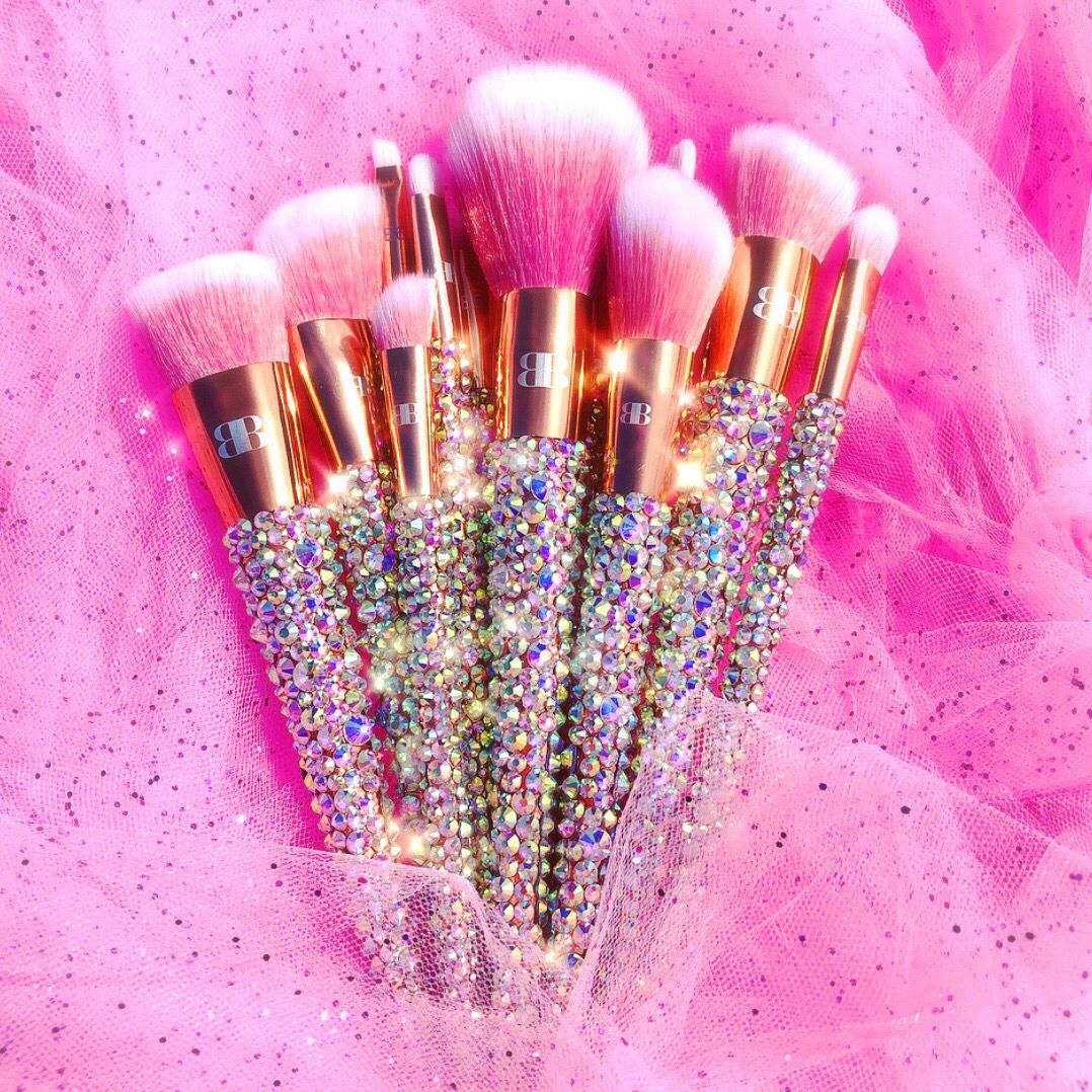 12Piece Bring On The BLING (Rose Gold) Crystal makeup