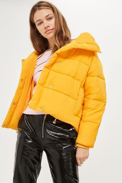 Yellow Wrap Puffer Jacket Yellow Puffer Jacket Jackets Winter Coats Jackets