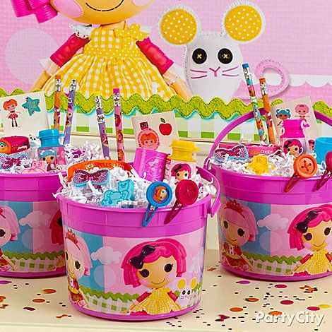 Lalaloopsy Party Theme   blooming with party favors party favors are  buckets of fun  candy bar ideas. Lalaloopsy Party Birthday Party Ideas   Birthdays  4th birthday