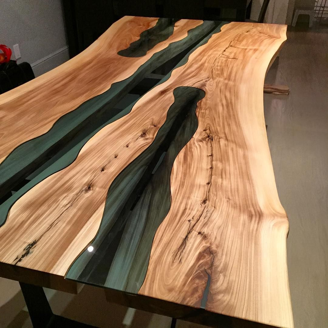 The Grains In This American Elm Really Popped After