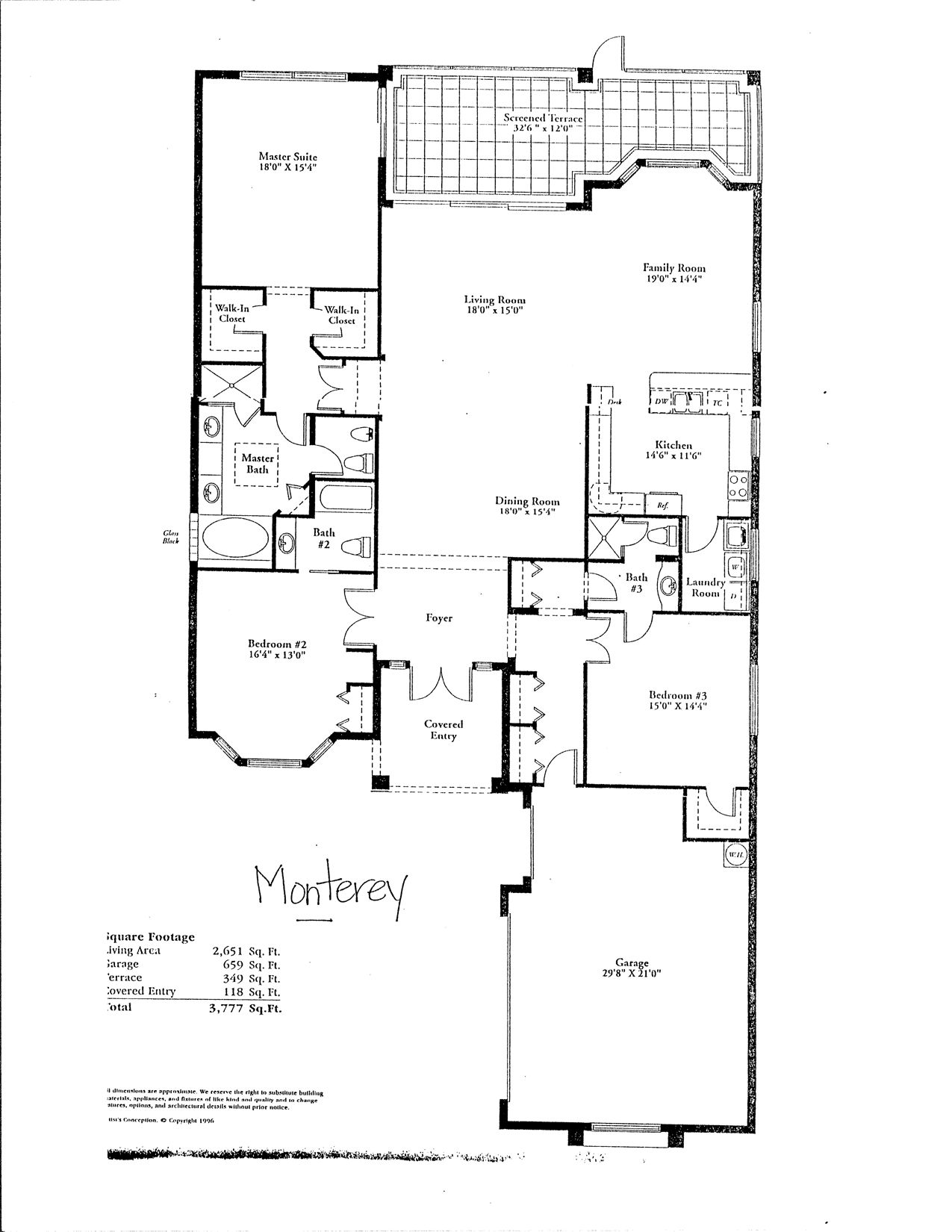 Single Level House Floor Plans