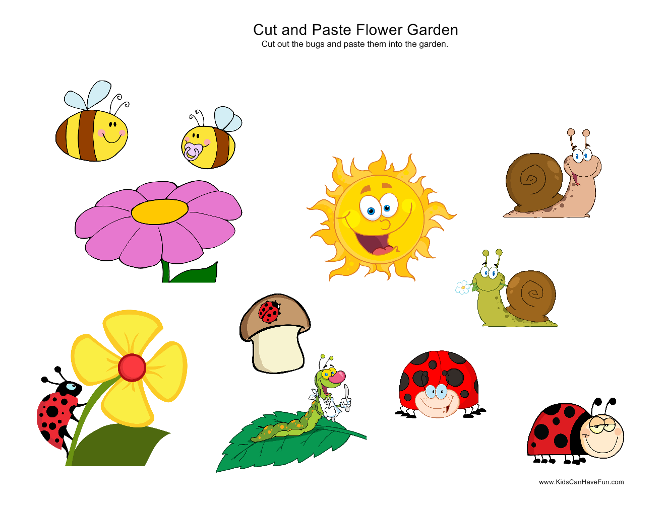 80 best Cut and Paste Worksheets Activities for Preschool images – Cut and Paste Worksheets for Preschoolers