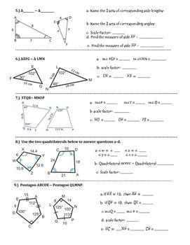 Similar Figures Practice Worksheet Worksheets Scale Teaching