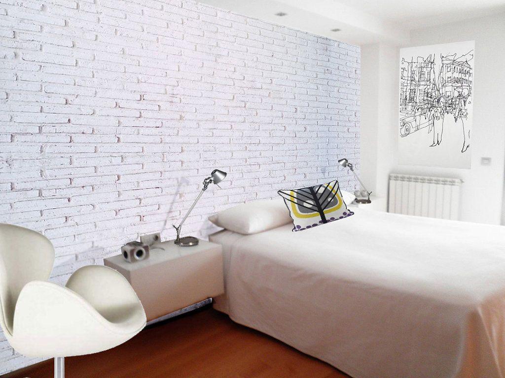 Pin de Ana Batista en Dormitorio | Pinterest | Pared de ladrillos ...