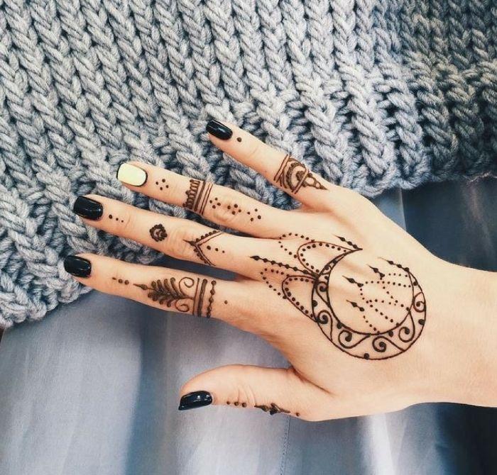 Henna Tattoo Hand Amazon: 1001 + Idées Pour Un Tatouage Henné Ultra Impressionnant