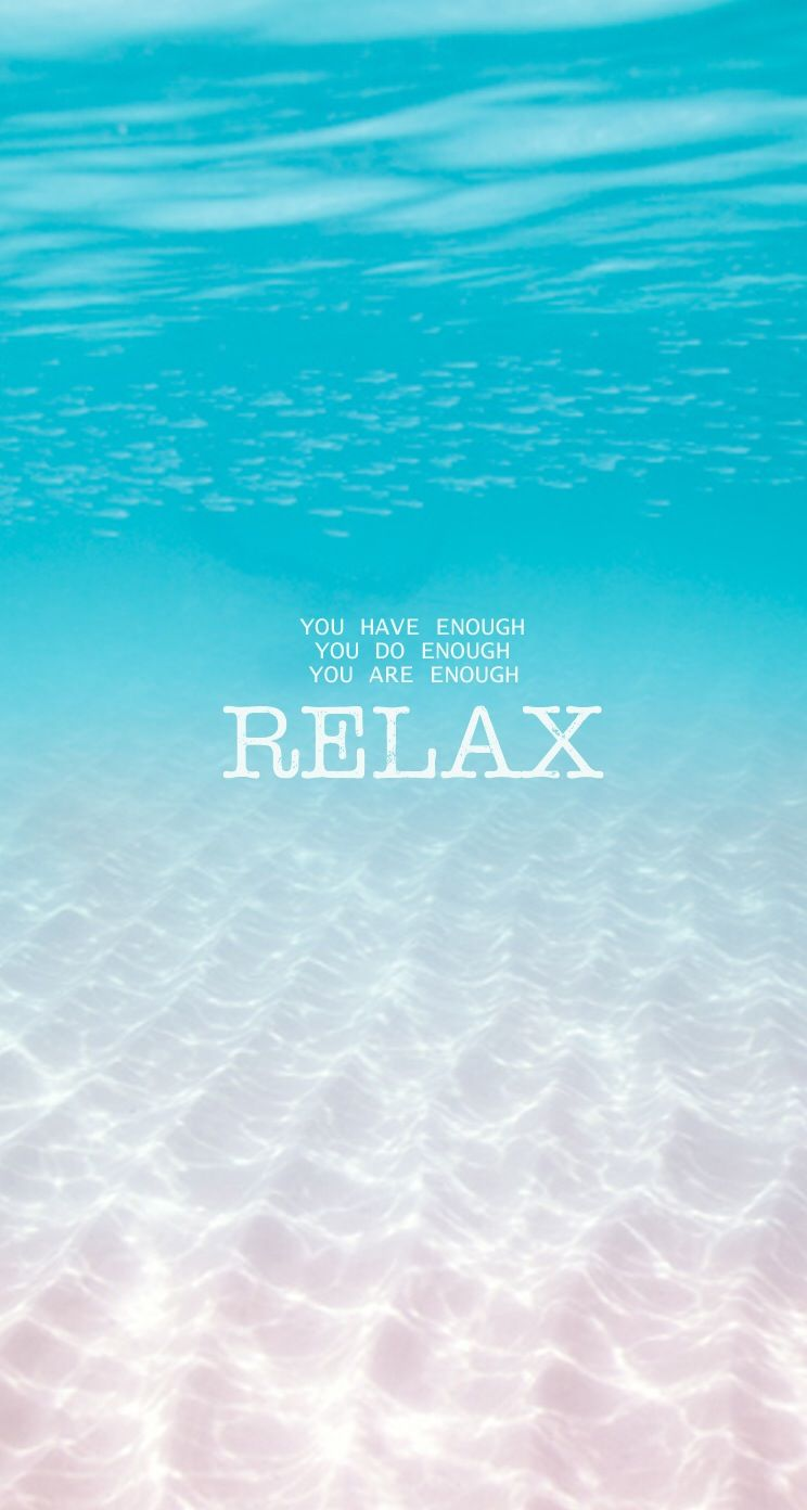 Relax - Typography iPhone wallpapers @mobile9