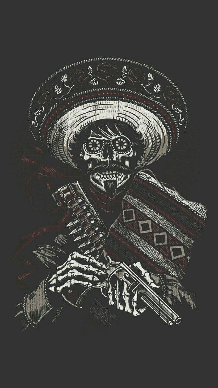 Pin De Qwertyu En Skull Fondos De Pantalla Calaveras Arte Azteca Fondos De Pantalla De Iphone