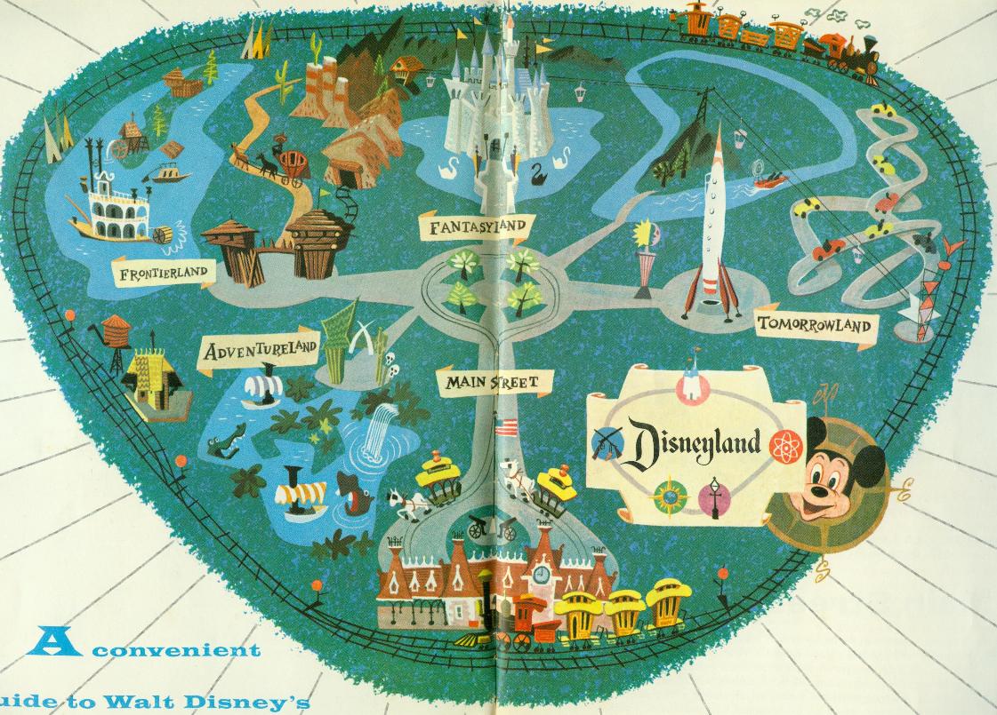 Map from Disneyland Gu...