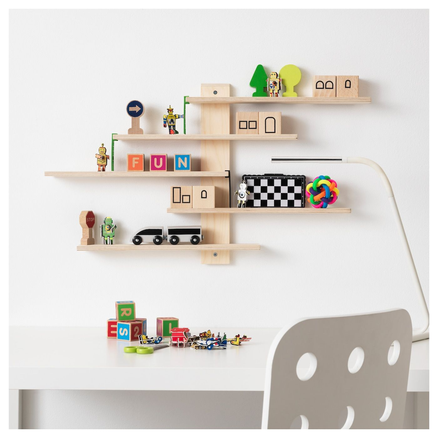 LUSTIGT Wall shelf - IKEA #ikeaideen
