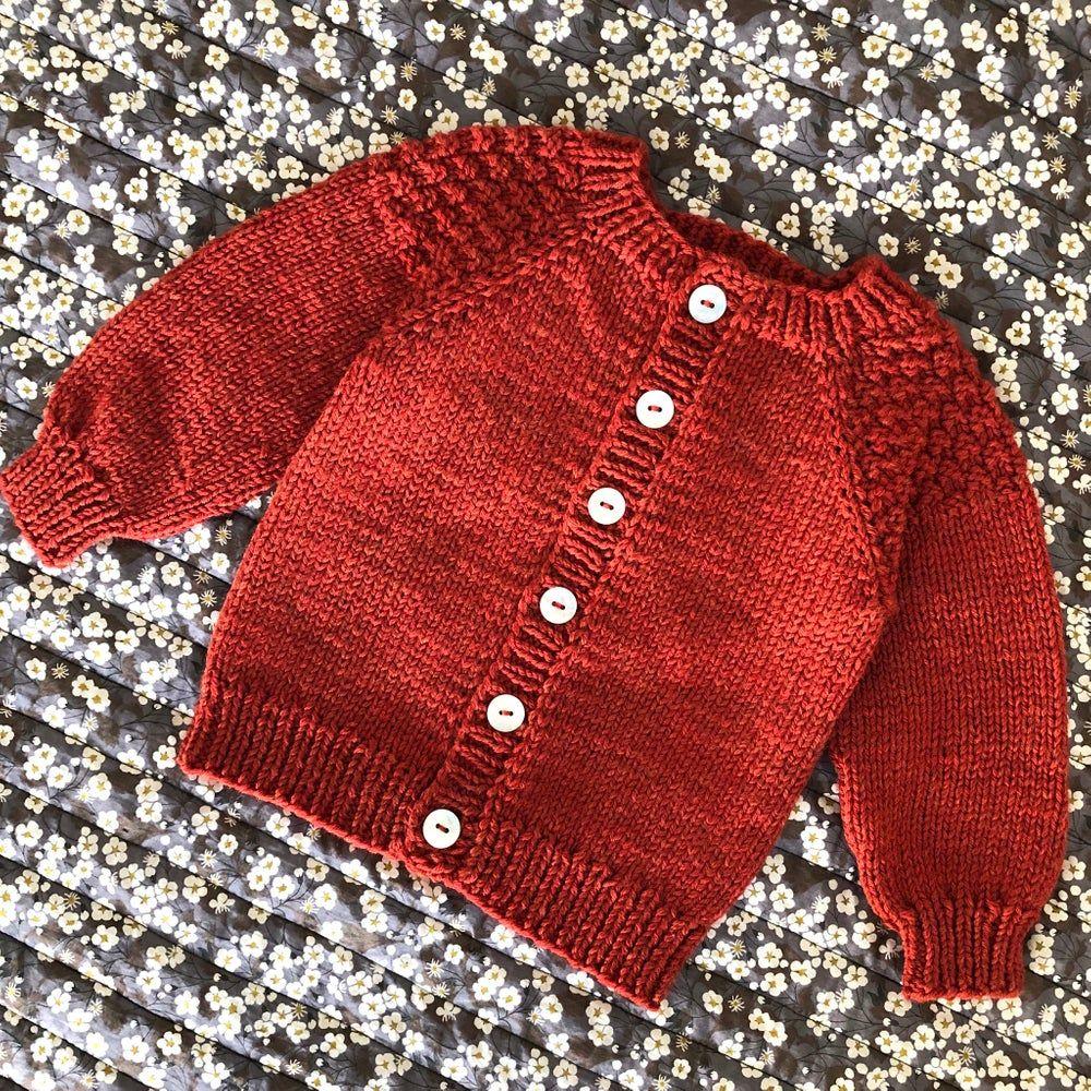 DK-0045 Baby YndlingsCardigan Str. 0 Mdr. - 3 År | Baby ...